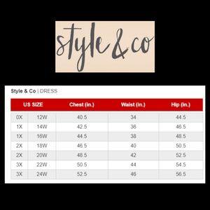 dce3e59260c Style   Co Dresses - Style   Co Plus Size T-Shirt Maxi Dress Black